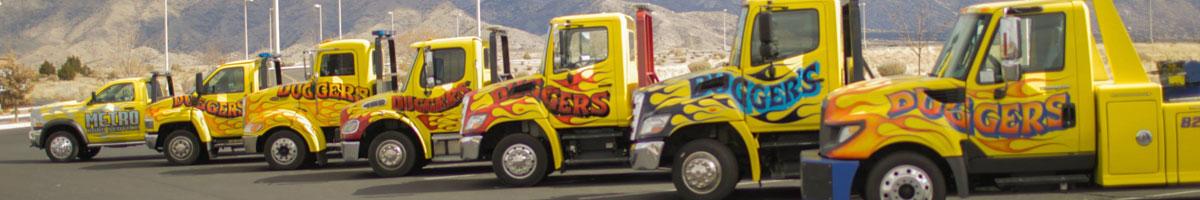 Dugger's Towing Albuquerque - Roadside Service Phoenix, Tucson, Rio Rancho